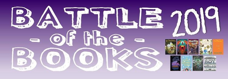 2019 Battle of the Books banner