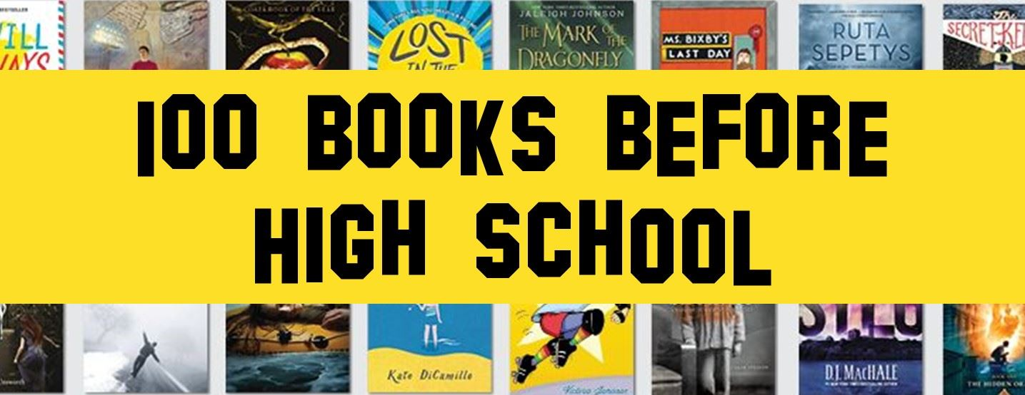 100 Books Before High School Challenge