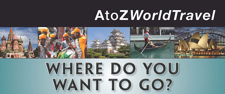 AtoZWorldTravel: Where Do You Want to Go?